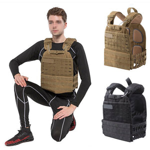 Tactical Vest with weight plates