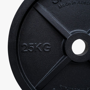 Australian made cast-iron Olympic plates (Sold individually)