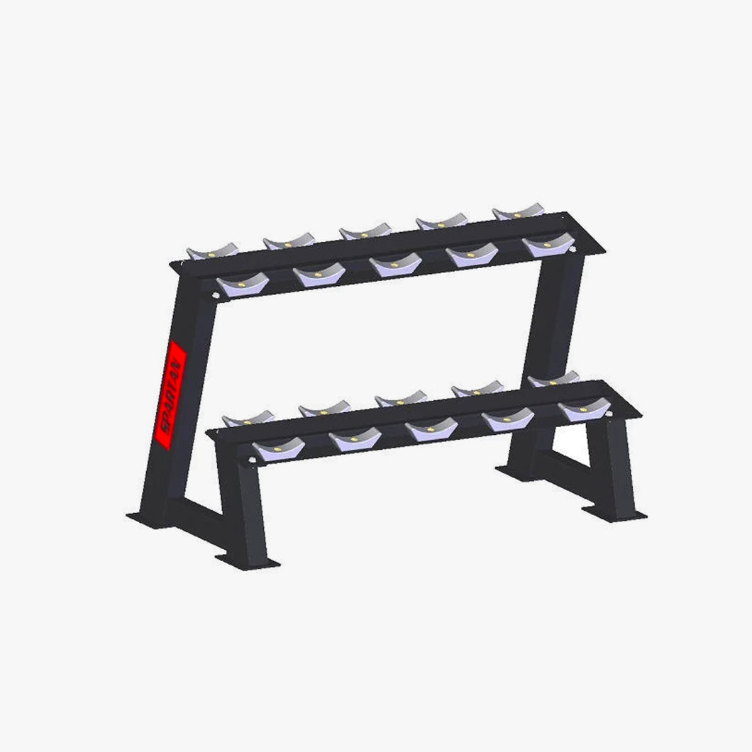 Spartan Dumbbell rack