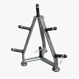 Weight plate tree