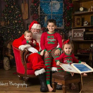 Kids Kute Kreations Christmas Pajamas
