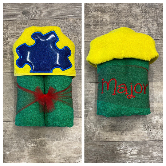 Autism Hooded Towel