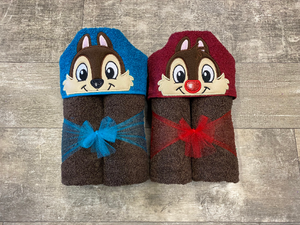 Chipmunk Hooded Towel