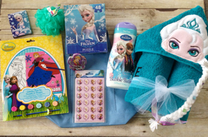 Teal Elsa Pre-Filled Easter Basket