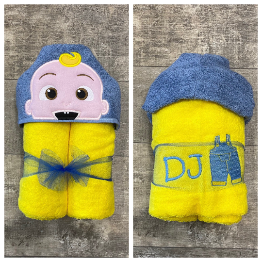 Baby doll hooded Towel