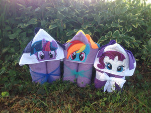 Twilight Pony Hooded Bath Towel