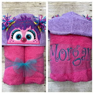 PreSchool Hooded Towels