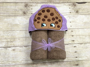 Cookie Hooded Towel