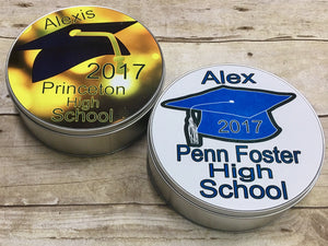 Personalized Graduation Gift Tin