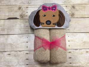 Puppy Hooded Towel
