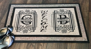Blended Family Personalized Door Mat