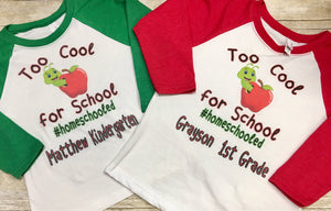 Too Cool for School Shirt