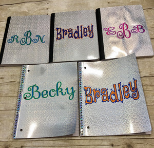 Personalized Notebook for Men