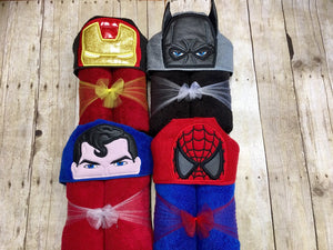 Iron Hero Full Size Hooded Towel