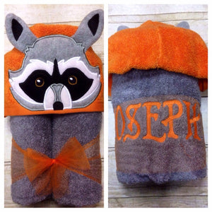Rocket Raccoon 3D Hooded Towel