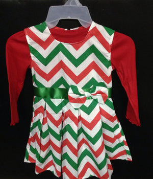 Girls Valentine's or Christmas Day Dress