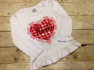 Valentine's Day Heart Shirt