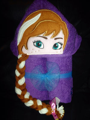 Frozen Anna Towel