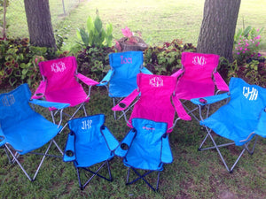 Personalized Folding Chair
