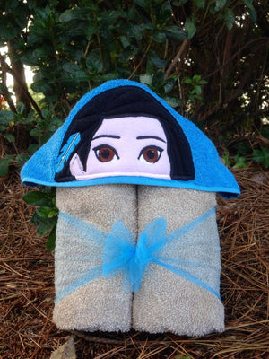 Pocahontas Inspired Hooded Towel