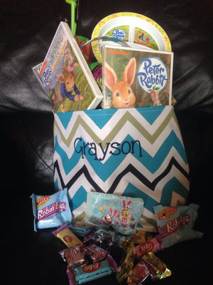 Personalized Boy Easter Basket