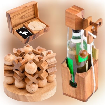 10% off Wooden Games