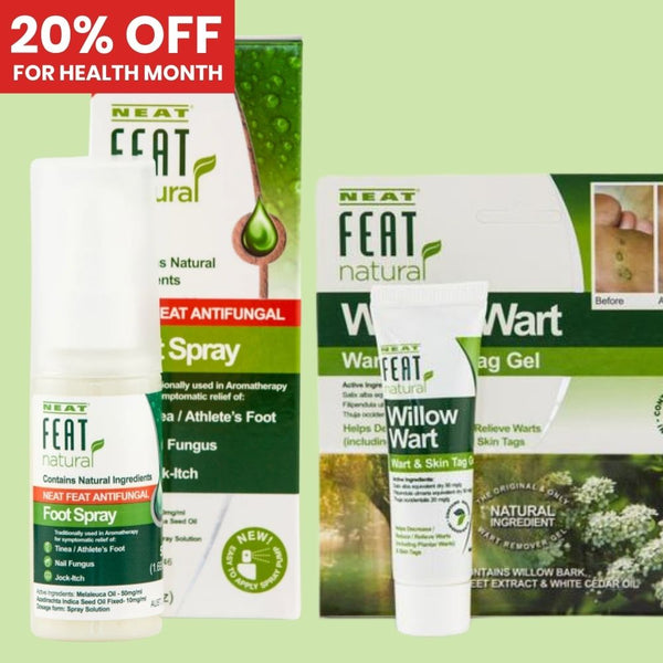 20% off Neat Feat Natural Selection Range