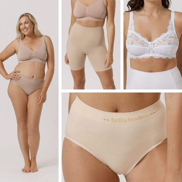 Comfortable, wire-free women's underwear and shapewear made of natural bamboo fibres