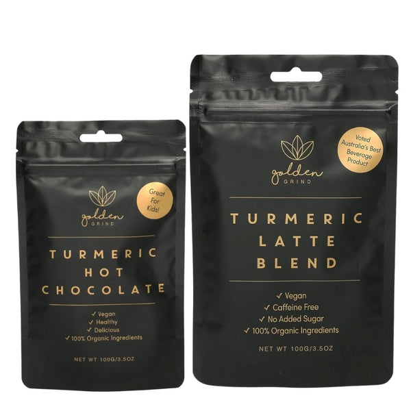 10% off Turmeric Latte, Healthy Hot Chocolate and Turmeric Face Scrub