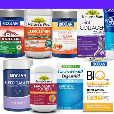 25% off all Pharmacare vitamins and supplements including Bioglan & Nature's Way
