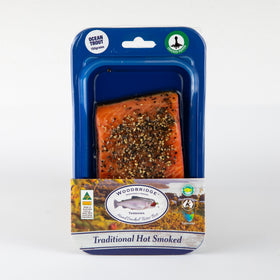 Hot Smoked Ocean Trout Cracked Pepper