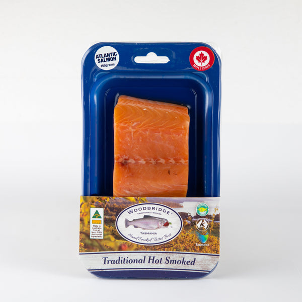 Hot Smoked Atlantic Salmon Maple