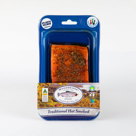 Hot Smoked Atlantic Salmon Mediterranean Pepper