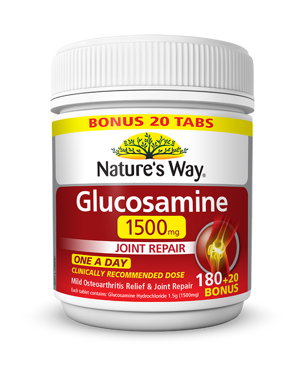 Nature's Way GLUCOSAMINE HCL1500mg 200s