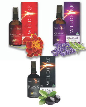 Wildfire Massage Oil - Black