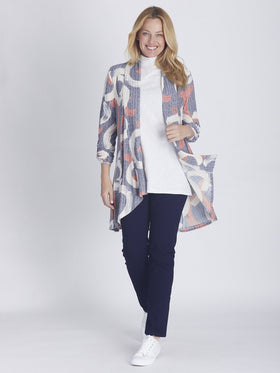 Ultimate Print Cardy Soft Navy