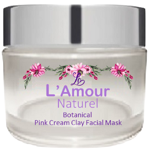 Botanical Pink Cream Clay Face Mask