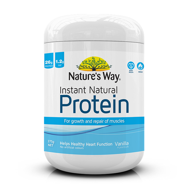Nature's Way INSTANT NATURAL PROTEIN VANILLA 375g