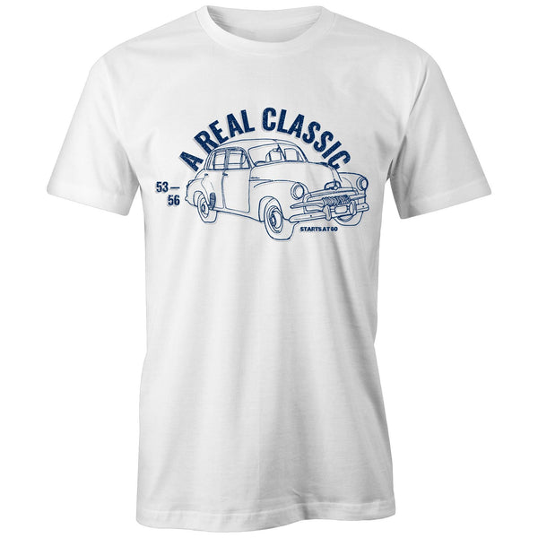 Blue FJ Holden - A Real Classic - Starts at 60 Classic Fit Mens T-Shirt (Front only)
