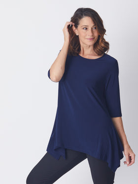 Swing Andrea Top - Navy