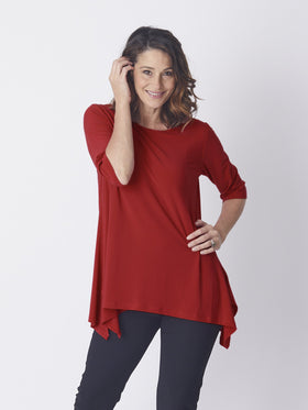 Swing Andrea Top - Red