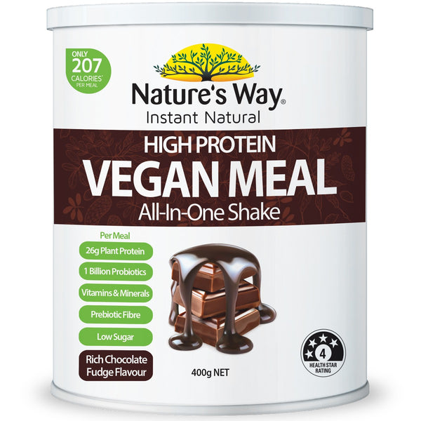 Instant Natural Protein Vegan Meal Chocolate 400g