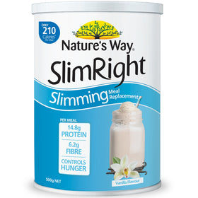 Slimright Slimming Meal Replacement Vanilla 500g