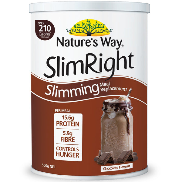 Slimright Slimming Meal Replacement Chocolate 500g