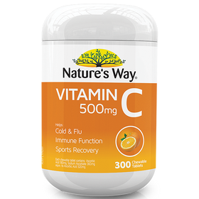 NATURE'S WAY VITAMIN C 500mg 300s