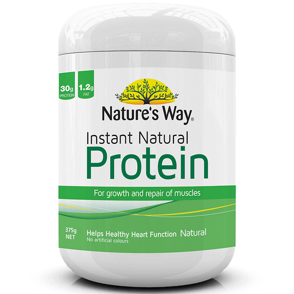 Nature's Way INSTANT NATURAL PROTEIN UNFLAVOURED 375g