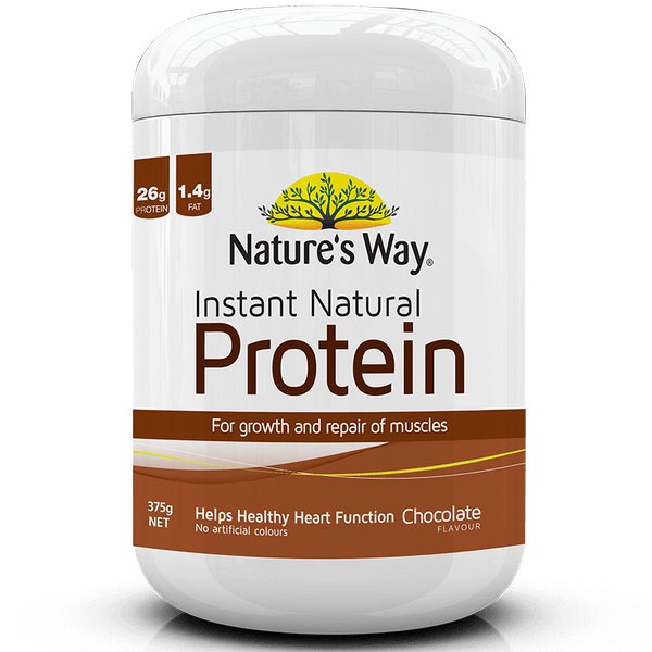 Nature's Way INSTANT NATURAL PROTEIN CHOCOLATE 375g
