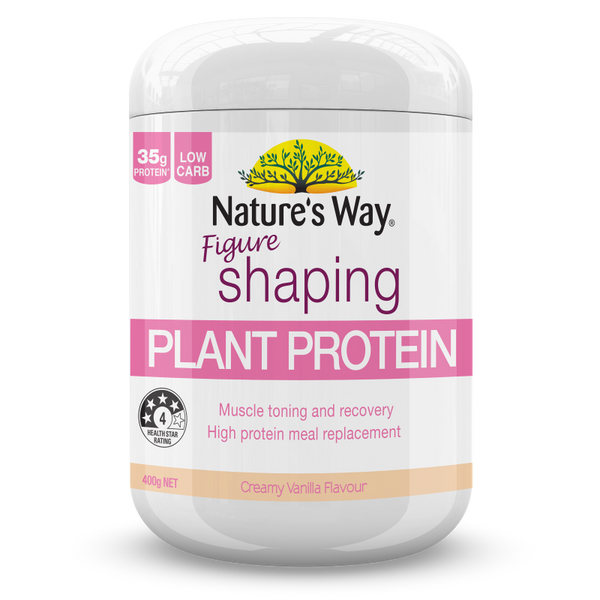 Nature's Way INSTANT NATURAL PROTEIN FIGURE SHAPING VANILLA 400g