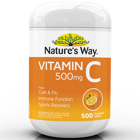 NATURE'S WAY VITAMIN C 500mg 500s