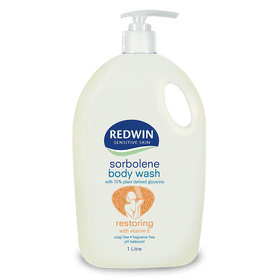 Redwin Sorbolene Body Wash with Vitamin E 1L (SLS Free)
